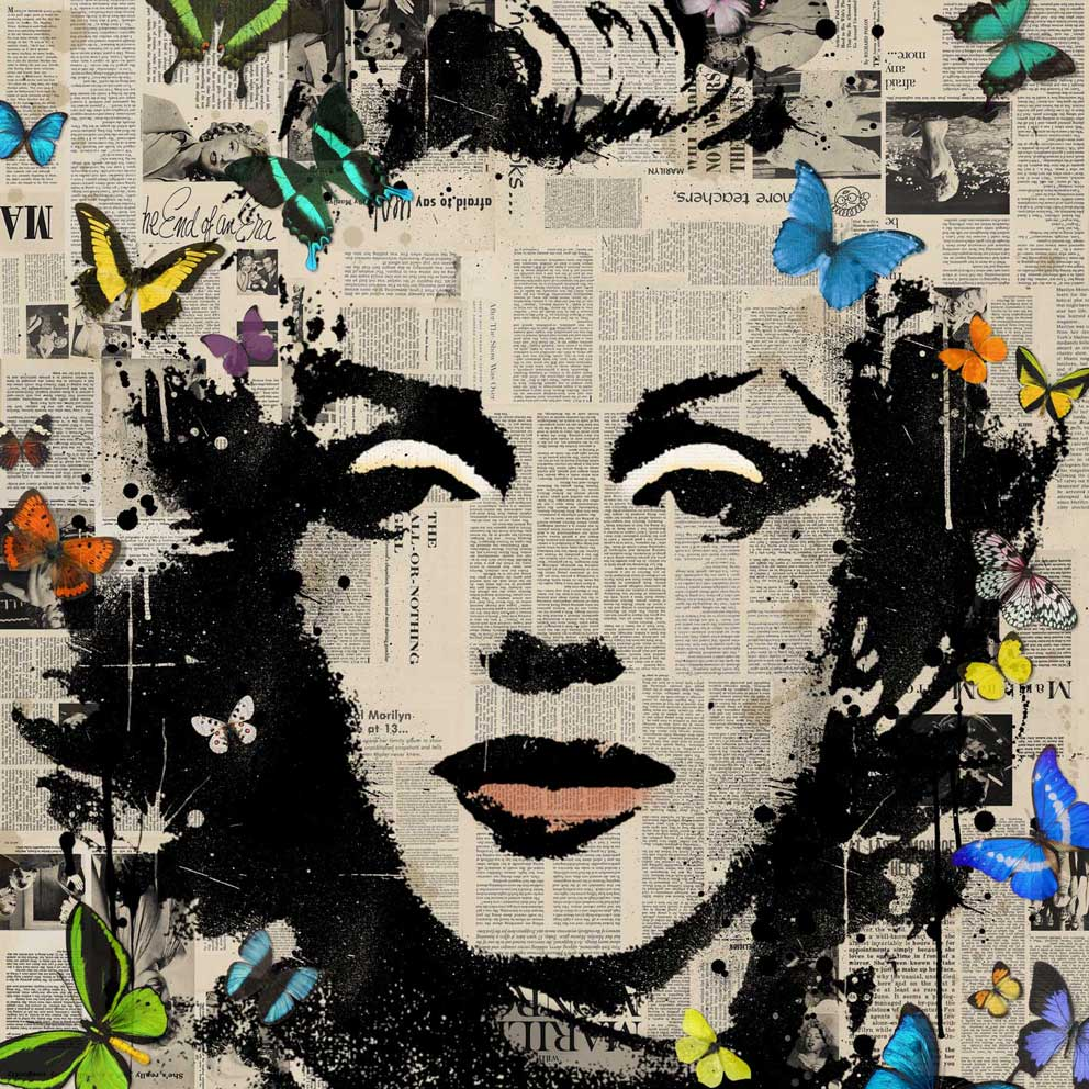 Famous Marilyn Monroe Painting